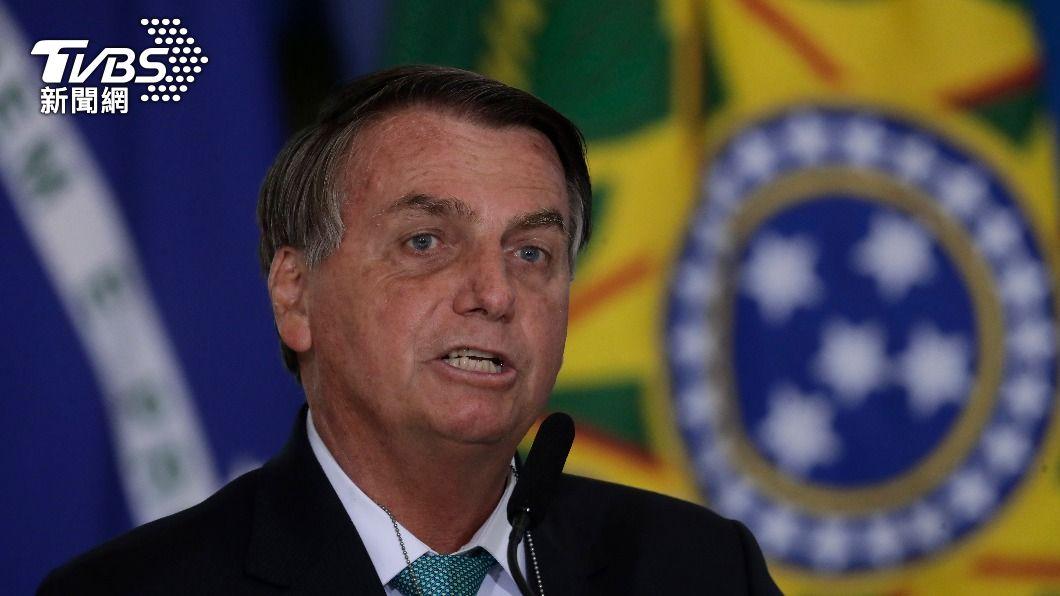 巴西總統波索納洛確認巴西將主辦美洲盃足球賽。(圖/達志影像美聯社) 巴西確認主辦2021年美洲盃足球賽