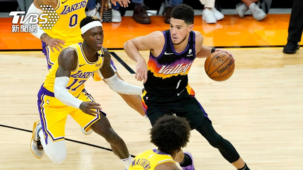 (圖/達志影像美聯社) 湖人戴維斯缺戰 NBA太陽輕鬆取勝聽牌