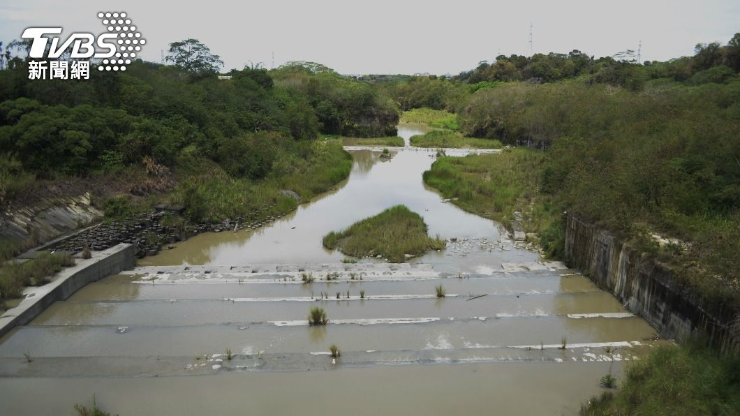 (圖/中央社) 雨勢停歇水庫持續進水 嘉義民生用水近期無虞