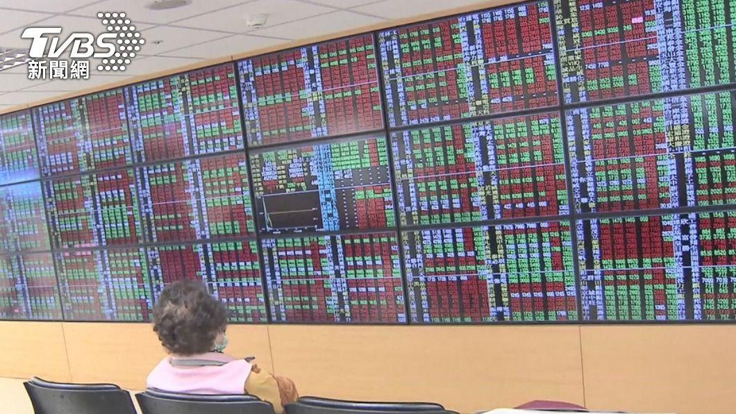 (圖/TVBS) 台股盤中震盪逾200點 收小紅守住17100點