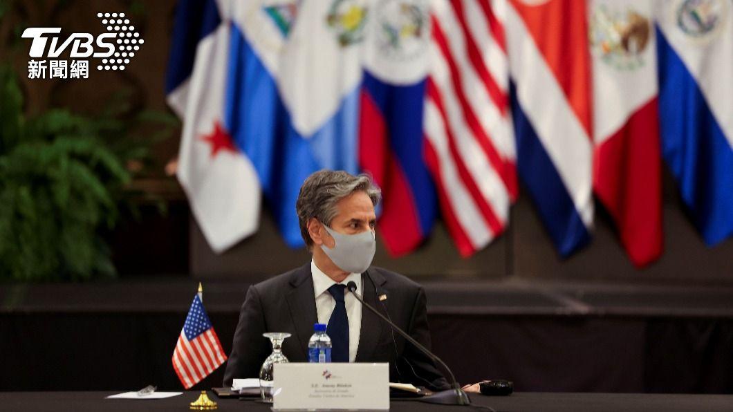 美國務卿布林肯。(圖/達志影像路透社) 布林肯訪哥斯大黎加 討論阻中美洲非法移民赴美