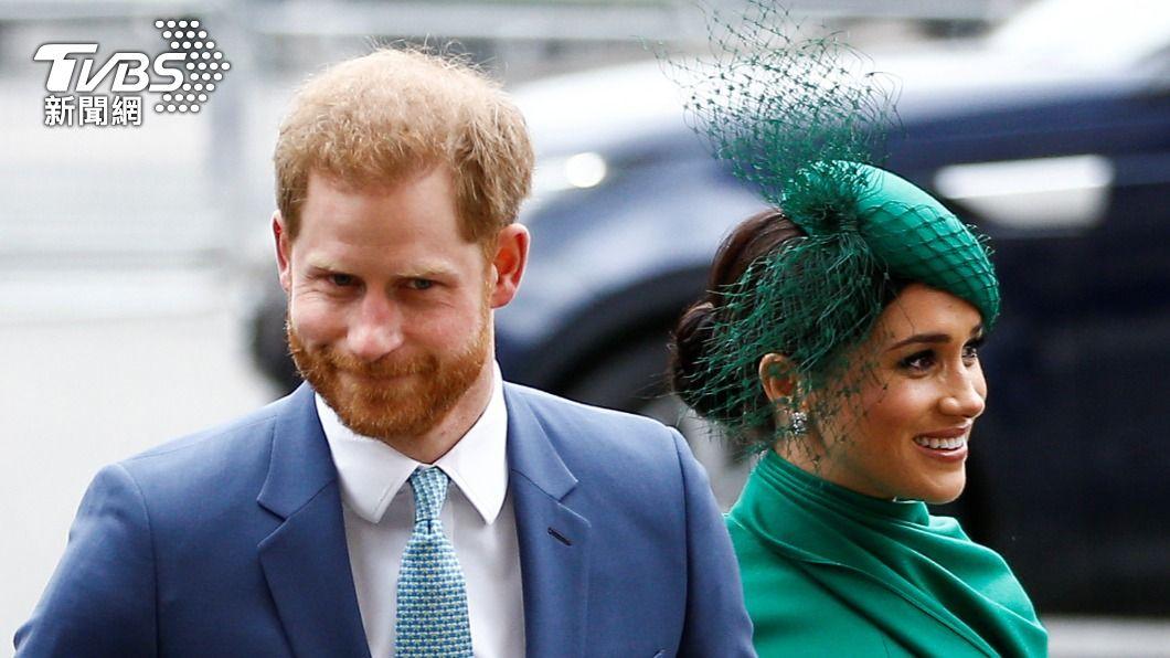 英國哈利王子的妻子梅根第2胎產女。(圖/TVBS資料畫面) 梅根第2胎產女 英國王室發聲明表示欣喜