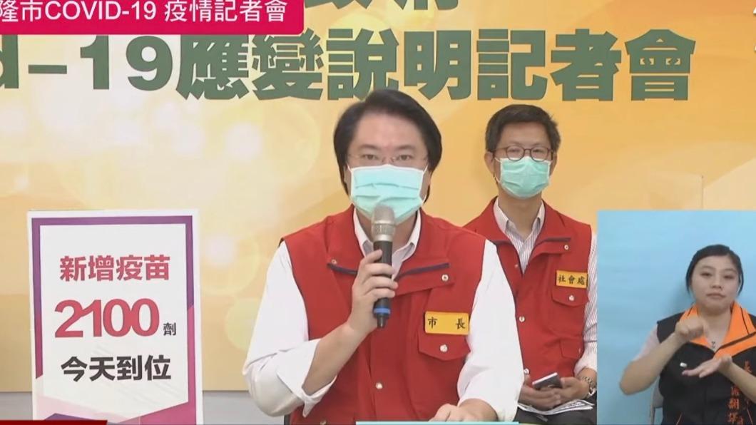 林右昌。(圖/TVBS) 中鏢清潔員初判工作染疫可能小 林右昌:加速清潔員接種
