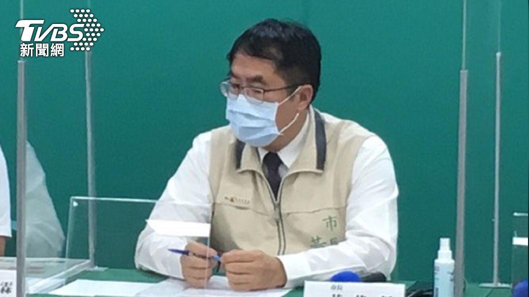 台南市長黃偉哲。(圖/中央社) 1傳9!台南新增1新冠確診 白河感染鏈再擴大