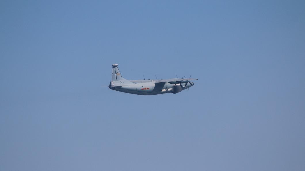圖為運八遠干(同型機)。(圖/翻攝自國防部官網) 共軍1架運8遠干機擾台 空軍兵力應對