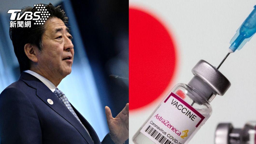 前首相安倍晉三接到蔡英文總統求救電話。(圖/shutterstock達志影像、達志影像路透社) 日媒揭送台灣疫苗原委 一切從蔡英文的SOS來電開始