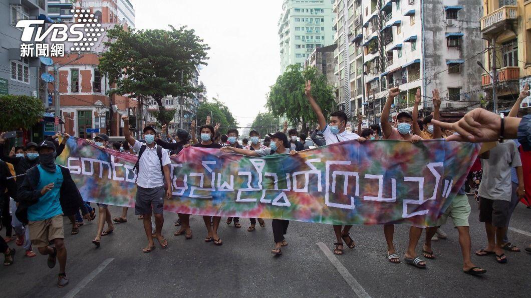 (圖/達志影像美聯社) 緬甸持續動盪 人道組織、東協代表陸續會軍頭
