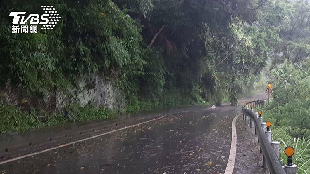 (圖/中央社資料照) 用路人注意!颱風彩雲逼近 4省道午後可能管制