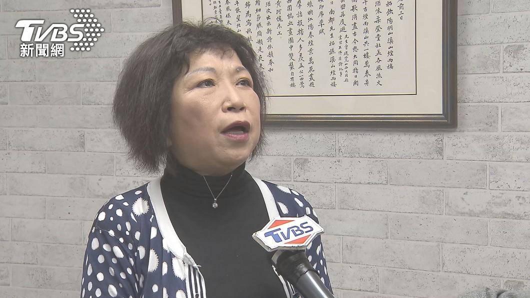 國民黨立委葉毓蘭對於日本捐AZ疫苗給台灣124萬劑嫌太少引發爭議。(圖/TVBS) 叫日本「至少給311萬劑疫苗」 葉毓蘭急改文道歉