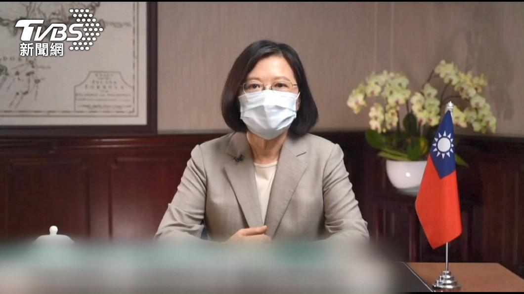 總統要竹竹苗組「防疫作戰聯盟」。(圖/TVBS) 疫情燒進科學園區 蔡英文:竹竹苗組「防疫作戰聯盟」