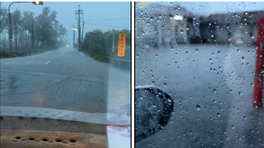 屏東縣清晨降下豪雨,多處傳出淹水災情。(圖/翻攝自長治鄉長古佳川臉書) 屏東9小時累積300毫米雨量 鄉鎮多處淹、積水