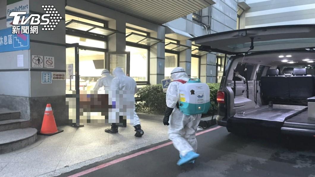 今日新增25例死亡個案。(示意圖/TVBS) 今增25死!萬華相關再添9死 累計333人染疫亡