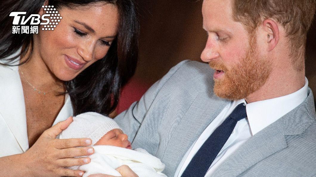 圖/達志影像路透社 資料畫面 梅根第2胎產女 以女王與黛安娜王妃名字命名
