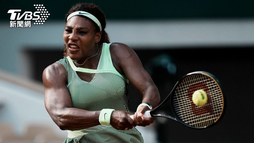 美國網球名將小威廉絲。(圖/達志影像美聯社) 小威法網女單爆冷敗 追平大滿貫紀錄得再等等