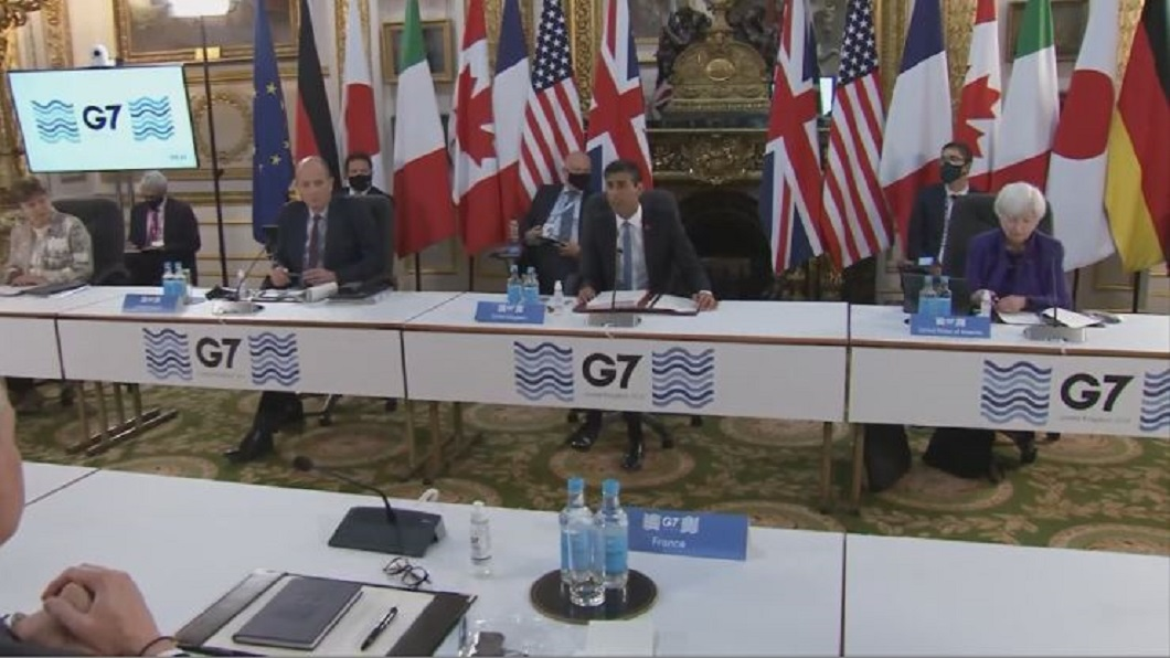 G7達成協議 跨國公司面臨15%全球企業稅