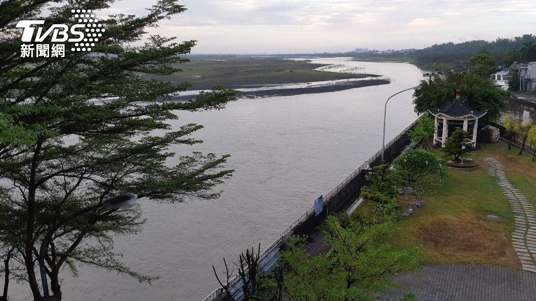 高屏堰川流量提升。(圖/中央社) 南投、高雄旱象解除 中部地區轉為減量供水橙燈