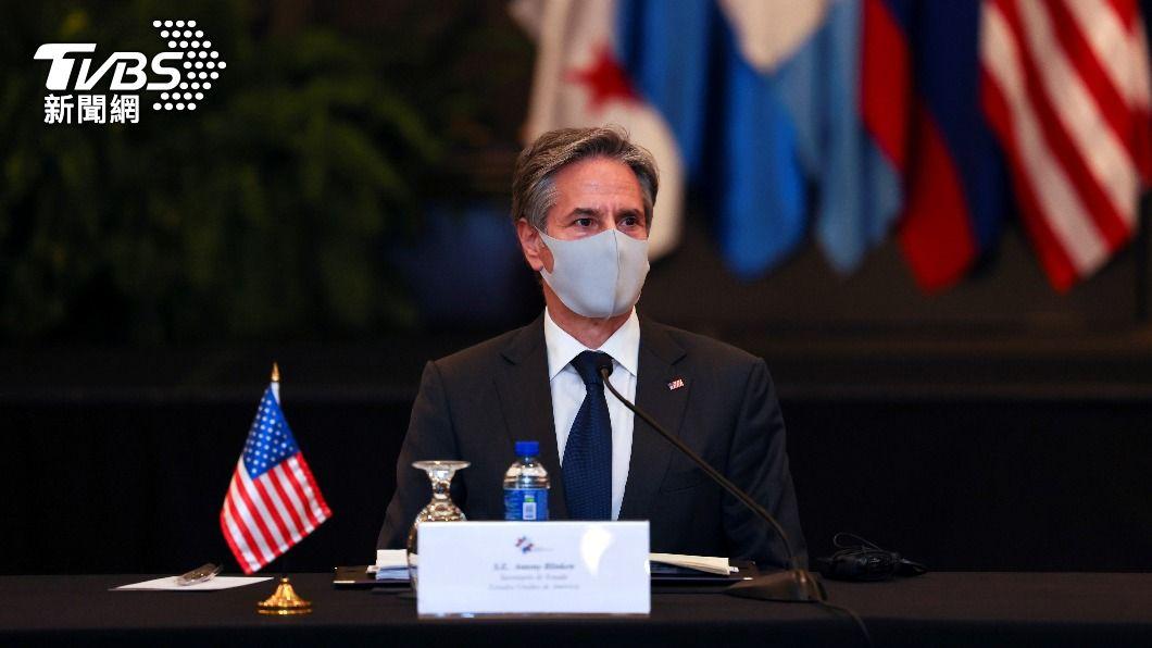 美國務卿布林肯。(圖/達志影像路透社) 重啟台美貿易協定? 布林肯:對話應該展開了