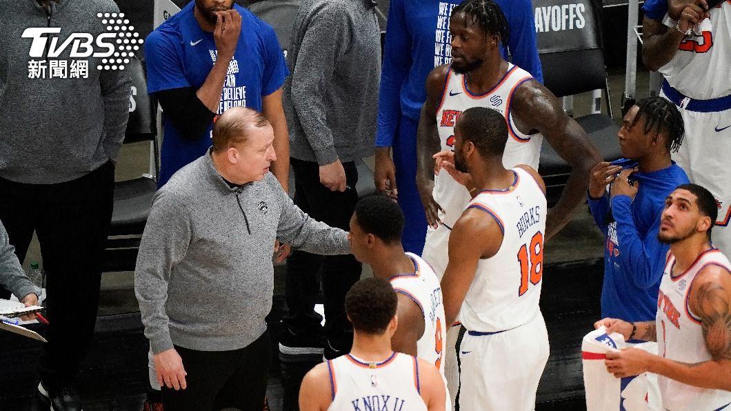 (圖/達志影像美聯社) 率尼克重返季後賽 席柏杜獲NBA年度最佳教練獎