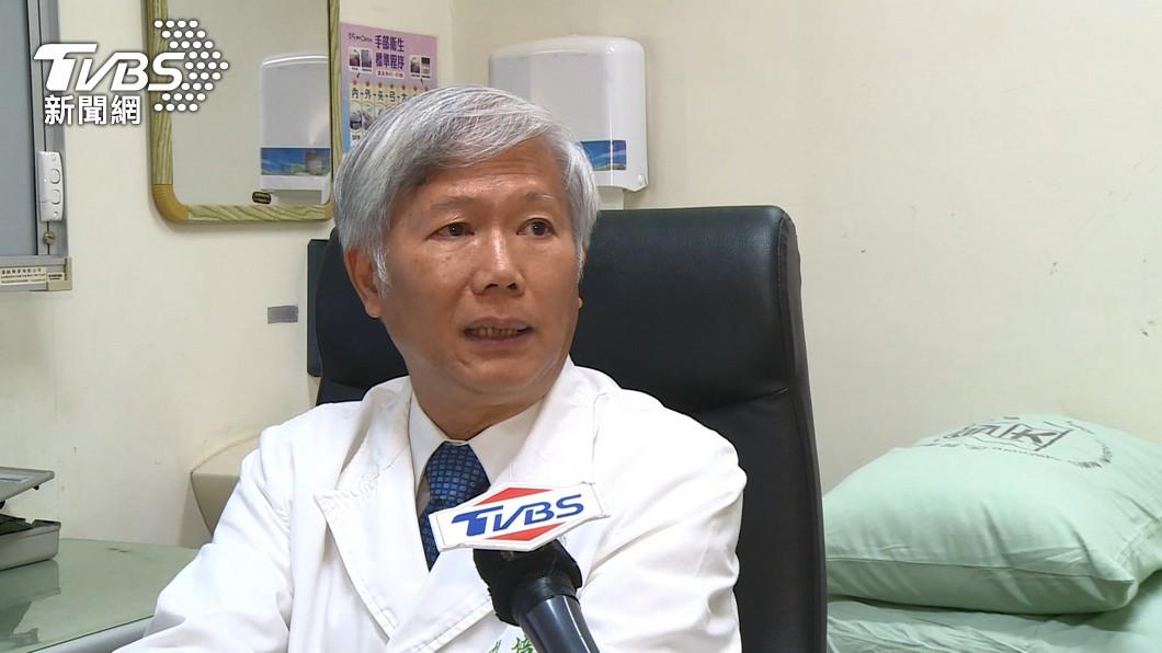 中研院士陳培哲再被爆出在中國大陸藥廠當科學顧問。(圖/TVBS) 陳培哲被爆在上海藥廠當顧問 弟弟發文幫澄清