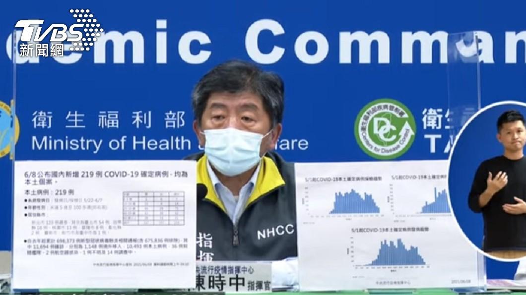 陳時中認了疫苗不夠。(圖/TVBS) 認了「事實上疫苗不夠」!陳時中:絕無跟日方說不需要