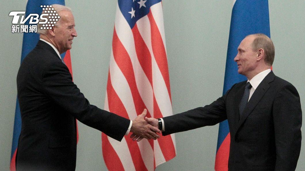 拜登與普欽下週將在日內瓦見面。(圖/達志影像路透社) 穩固盟友!拜登會普欽前 先邀烏克蘭總統到白宮坐客