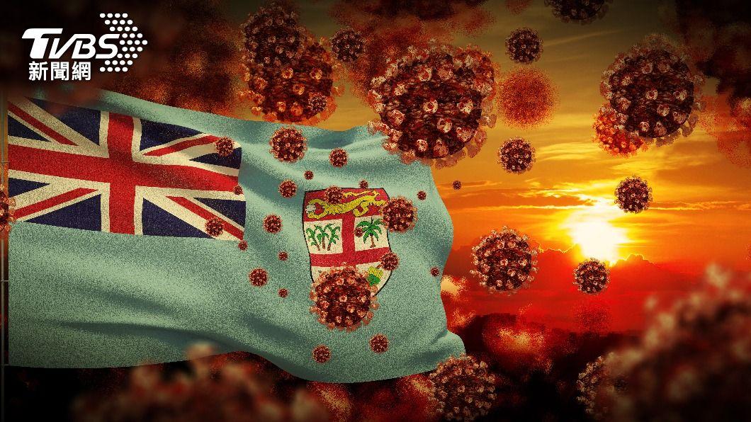 斐濟近日出現新一波疫情高峰。(示意圖/shutterstock達志影像) 守了一年仍破功!斐濟現變種病毒 醫療量能面臨挑戰