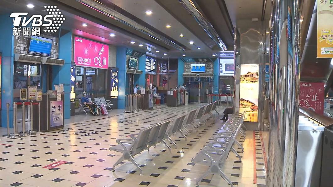 (圖/TVBS) 國道客運端午載客率限2成 採梅花座退票免手續費