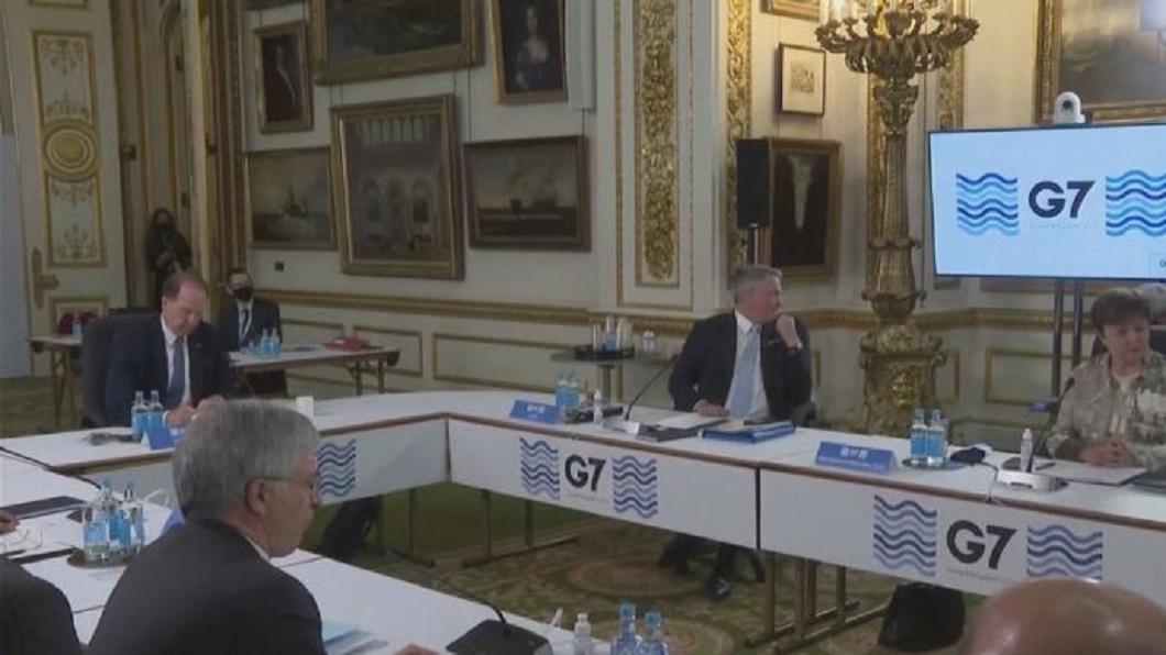 日媒:G7峰會共同宣言 將強調「台海安定」