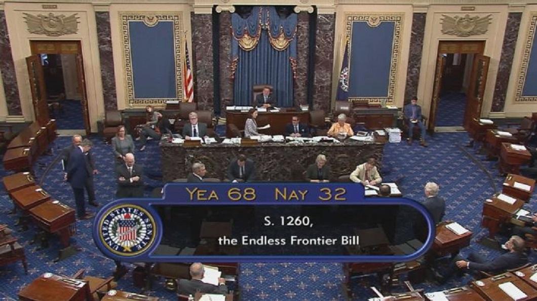 科技戰抗中關鍵 美參院通過創新競爭法案