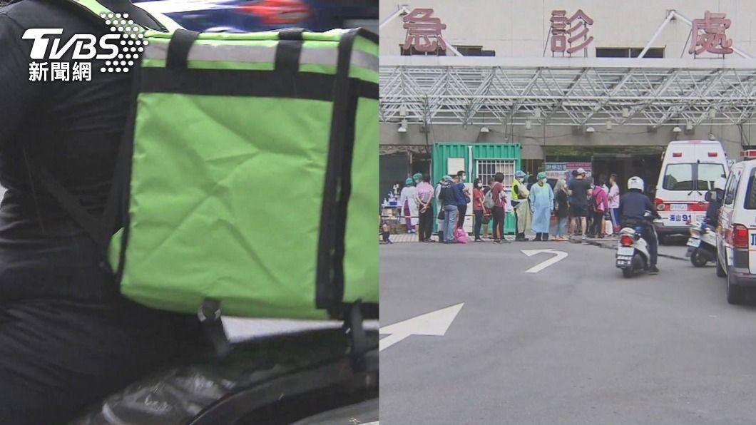 本土疫情至今尚未平息。(圖/TVBS資料畫面) 醫護太忙求送入院 外送員喊贈鳳梨「祝生意興隆」網戰翻