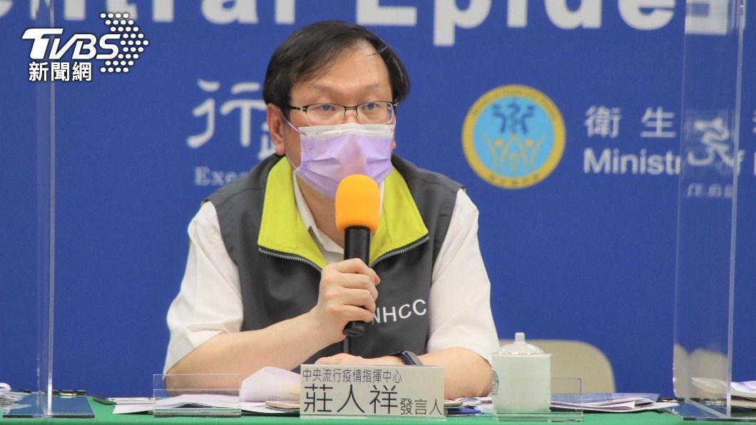 中央流行疫情指揮中心發言人莊人祥。(圖/TVBS) 三重區診所爆醫師死後確診 莊人祥證實:台灣首例