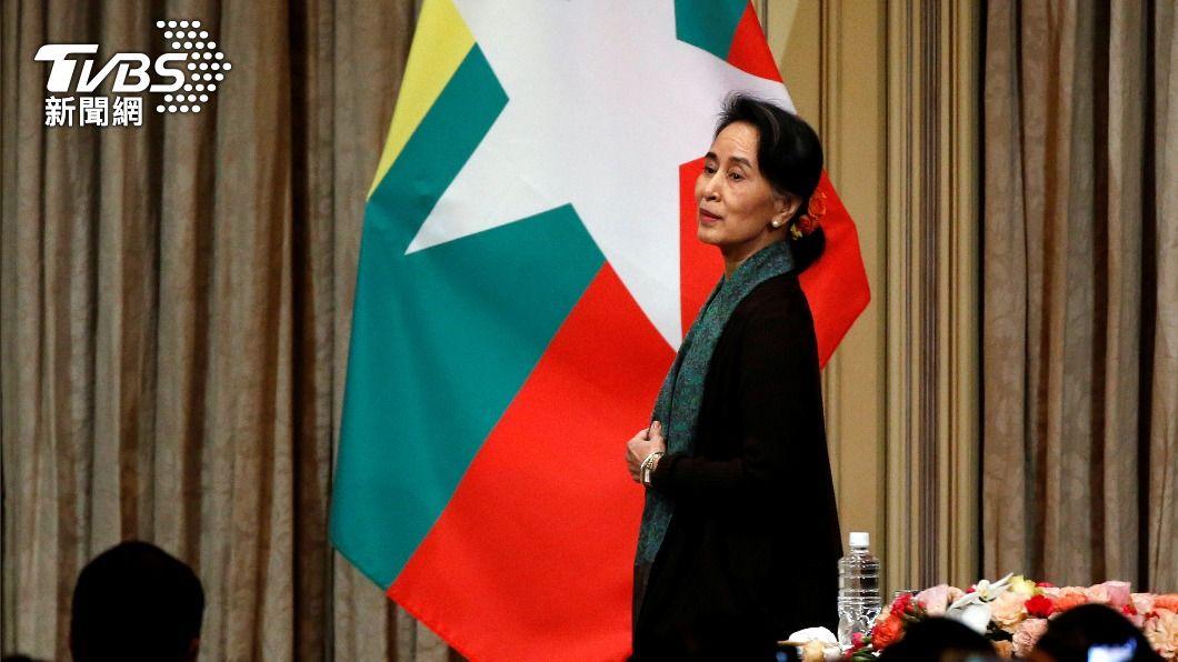 緬甸前領袖翁山蘇姬。(圖/達志影像路透社) 翁山蘇姬再被控貪腐 若定罪恐入獄長達15年