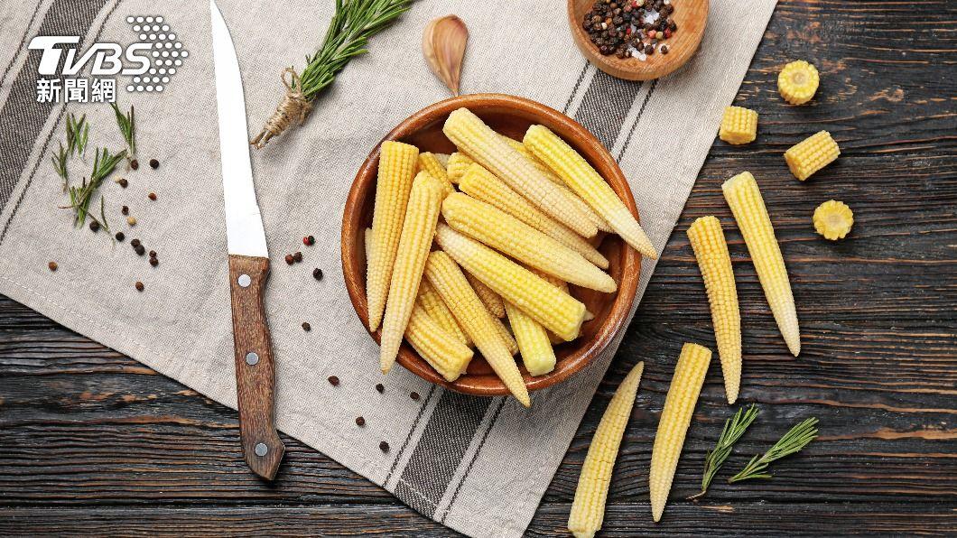 減肥界好蔬菜玉米筍。(示意圖/shutterstock達志影像) 3月內狂甩7公斤! 玉米筍推薦吃法一次看