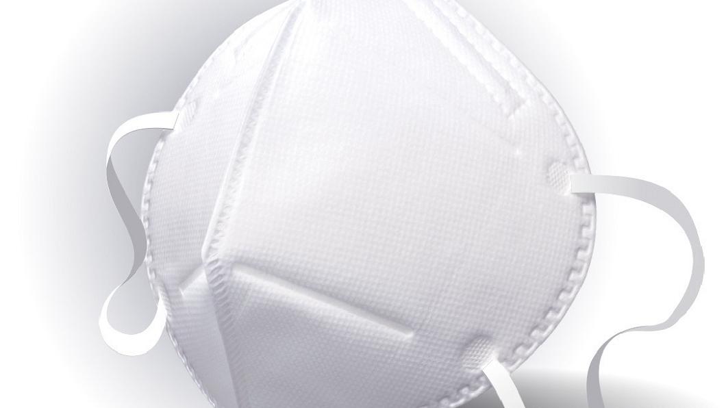 口罩大廠萊潔將所有N95等級口罩停止外銷,優先供應全台灣醫院使用。(圖/萊潔提供) 支援台灣防疫 口罩大廠停止N95外銷優先供應全台醫院