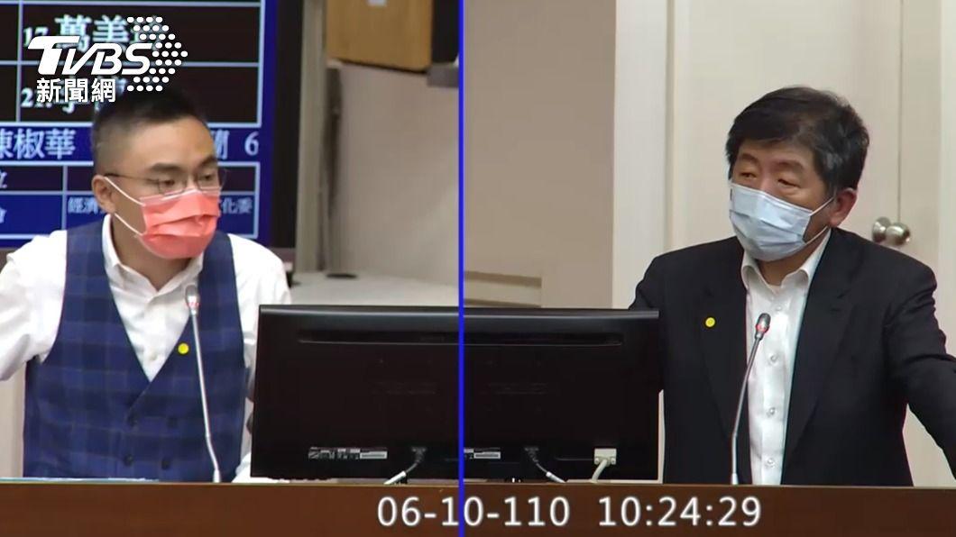 立法院聯席委員會今天審查紓困經費2600億元預算,衛福部追加疫苗採購、研發預算。(圖/TVBS) 聯亞、高端都用重組蛋白技術 衛福部坦承:難應付變種病毒