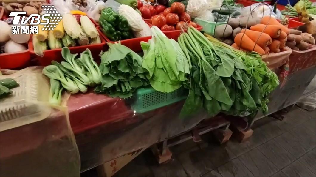 (圖/TVBS) 近日菜價上漲 北農:受梅雨及端午連假影響