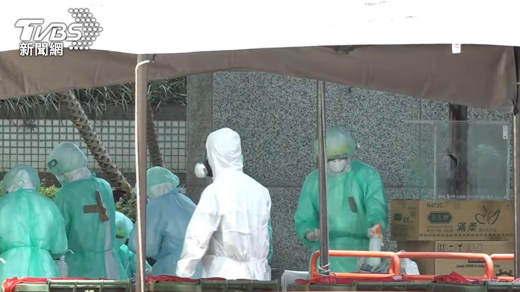 全台新冠肺炎疫情仍嚴峻。(圖/TVBS) 連五日確診數2字頭! 今新增286例本土