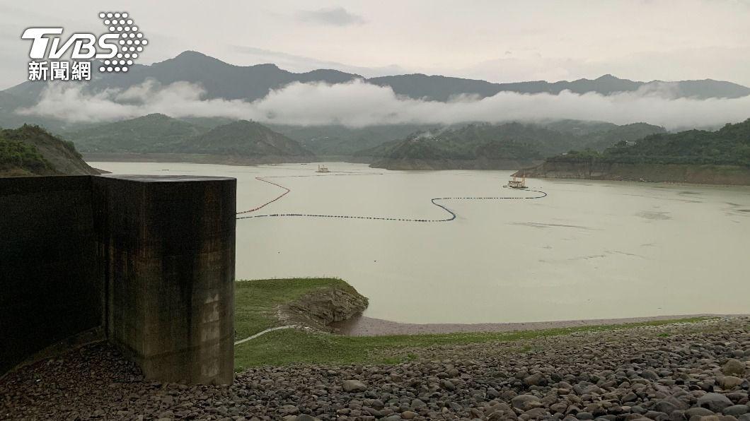 (圖/中央社) 台南水庫增逾億噸蓄水  二期稻灌溉6月中下旬敲定