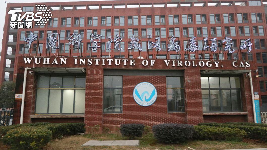 圖為中國科學院武漢病毒研究所。(圖/達志影像美聯社) 否認3員工染疫 武漢病毒所:指控要拿證據