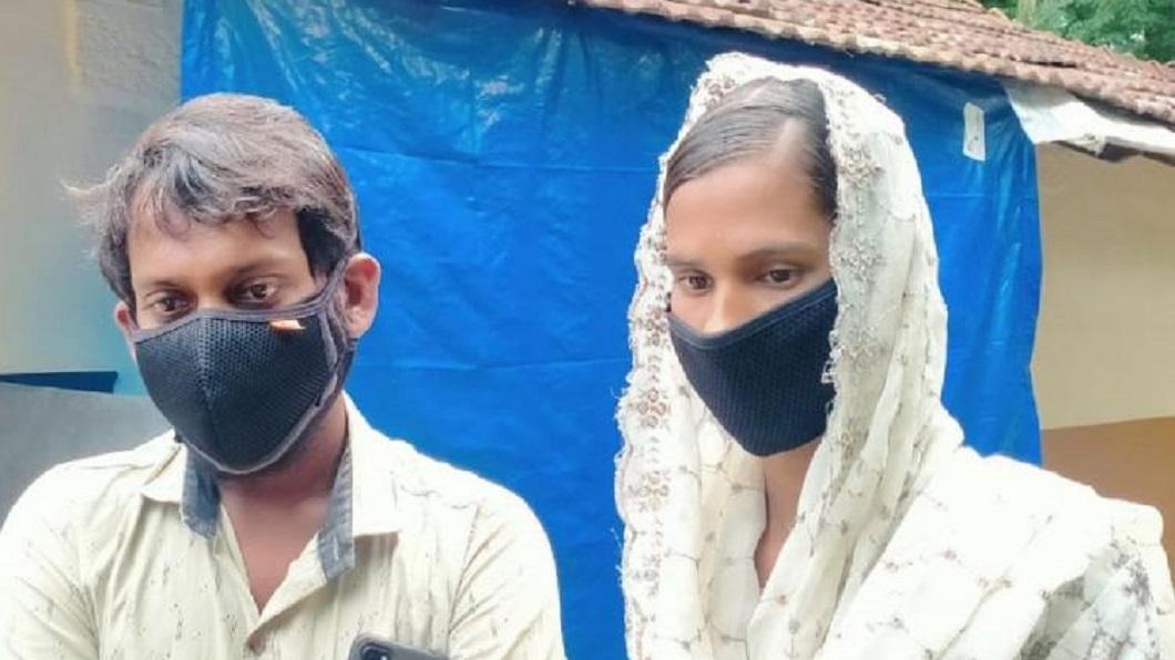 印度一名女子11年前突然消失,家人懷疑恐和男人私奔。(圖/翻攝自推特) 偷談戀愛怕家人發現 女躲住男友房間11年沒人發現