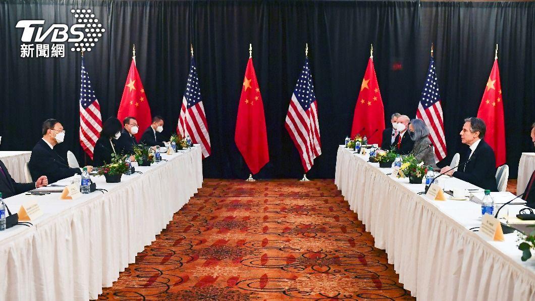 中美雙方自阿拉斯加會談不歡而散後,11日再度透過電話進行對談。(圖/達志影像路透社) 美中交鋒!布林肯、楊潔篪熱線 籲北京停止對台施壓