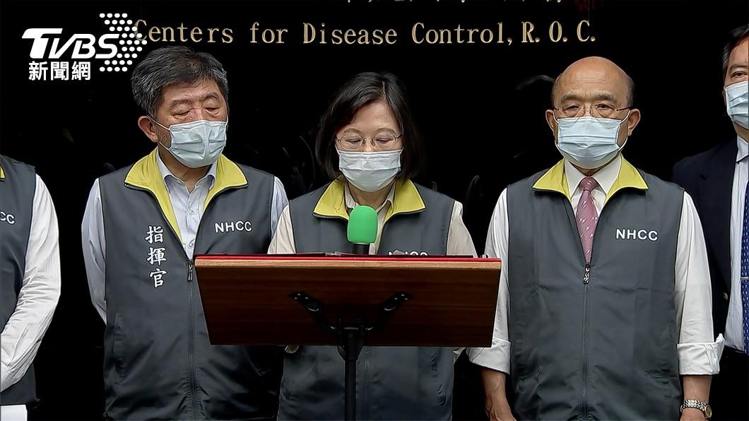 彭文正指控蔡英文已偷偷接種輝瑞疫苗。(圖/TVBS資料畫面) 彭文正爆蔡英文偷打輝瑞 指揮中心火速調資料結果出爐