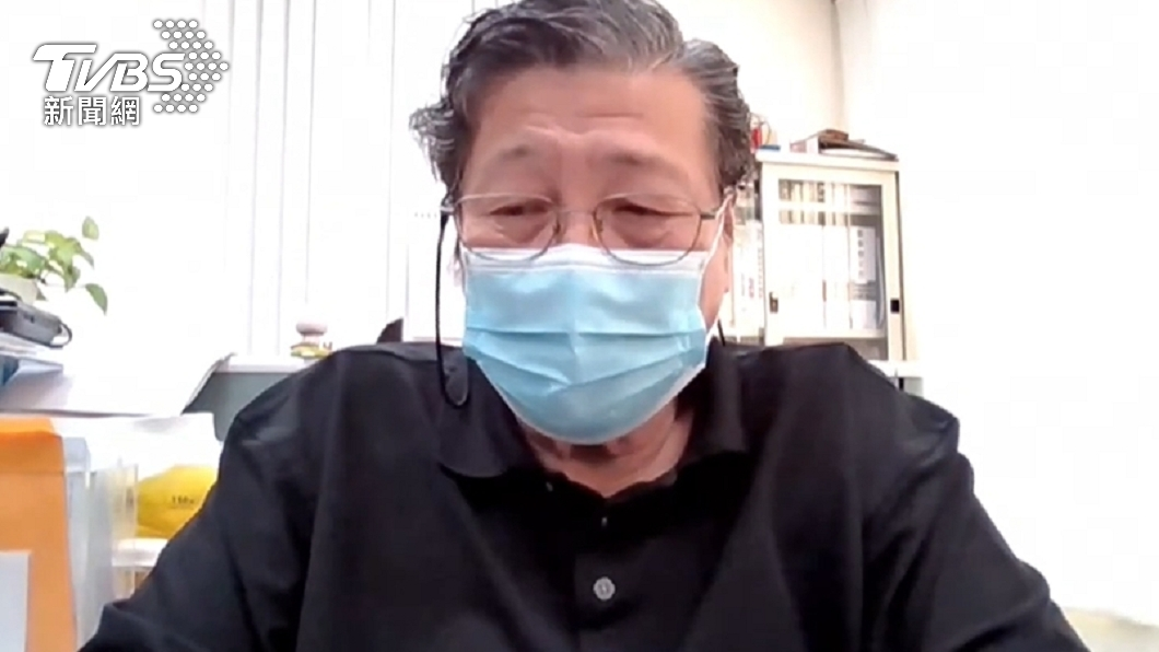 免疫學專家、陽明大學微生物免疫研究所退休教授張南驥博士。(圖/TVBS) 免疫學專家張南驥TVBS線上會議 精闢解析全球疫苗