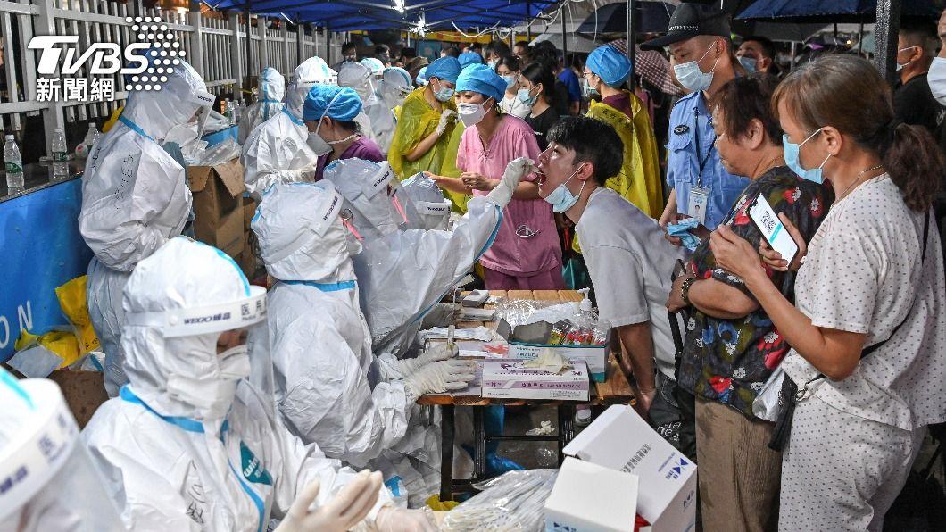 (圖/達志影像路透社) 大陸新增23例新冠肺炎確診 本土4例皆在廣東