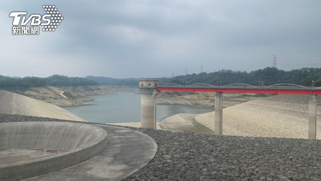 圖為新竹縣寶山第二水庫。(圖/中央社) 梅雨挹注水庫解渴 揭開水利署計算入庫水量法寶