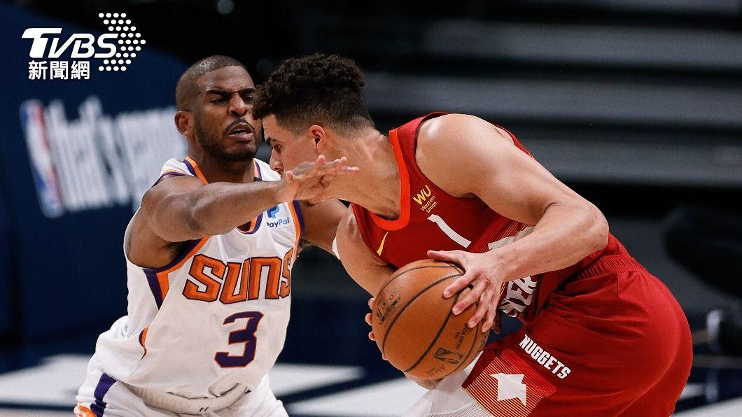 NBA太陽保羅攻下全場最高37分。(圖/達志影像路透社) 36歲保羅率太陽勢如破竹 打臉外界看衰他年長