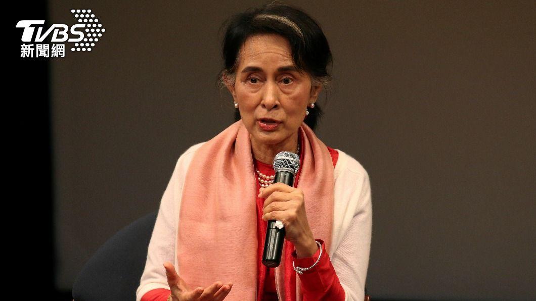 翁山蘇姬被控多項罪名。(圖/達志影像路透社) 翁山蘇姬被控多項罪名 緬甸法院開始審理