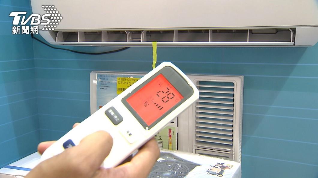 昨(18)日全台用電量刷新歷年6月紀錄。(示意圖/TVBS) 昨全台用電創6月歷史新高 冷氣這樣設定可省電6%
