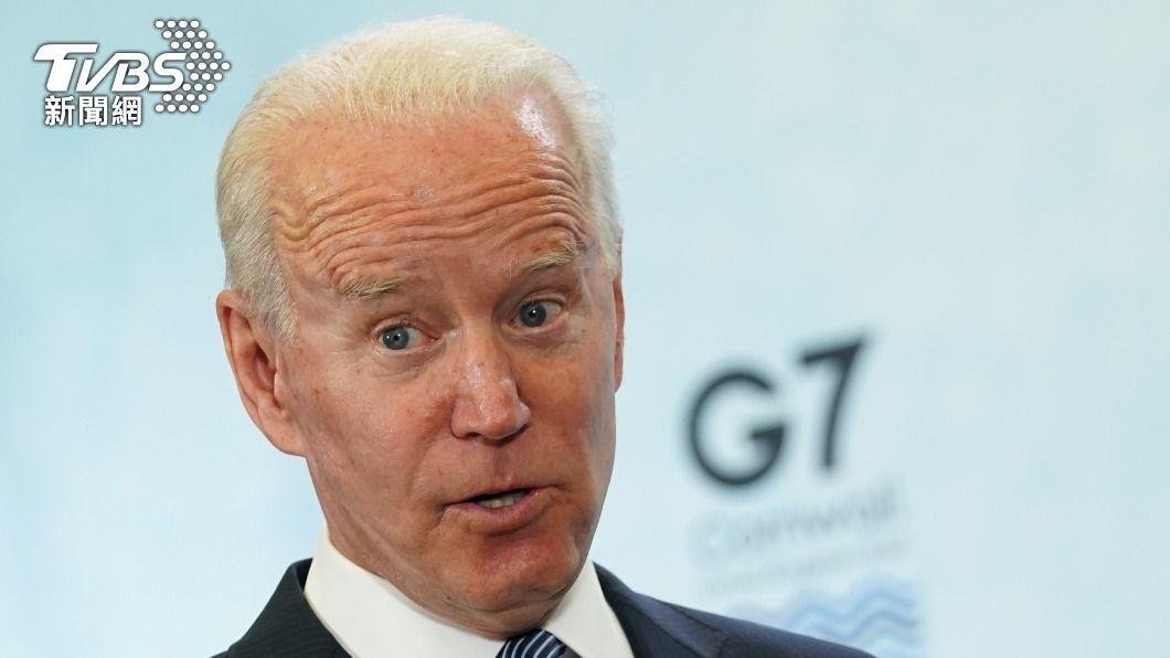 美國總統拜登。(圖/達志影像路透社) 觀點/G7峰會聲明納入台海穩定 拜登外交再下一城