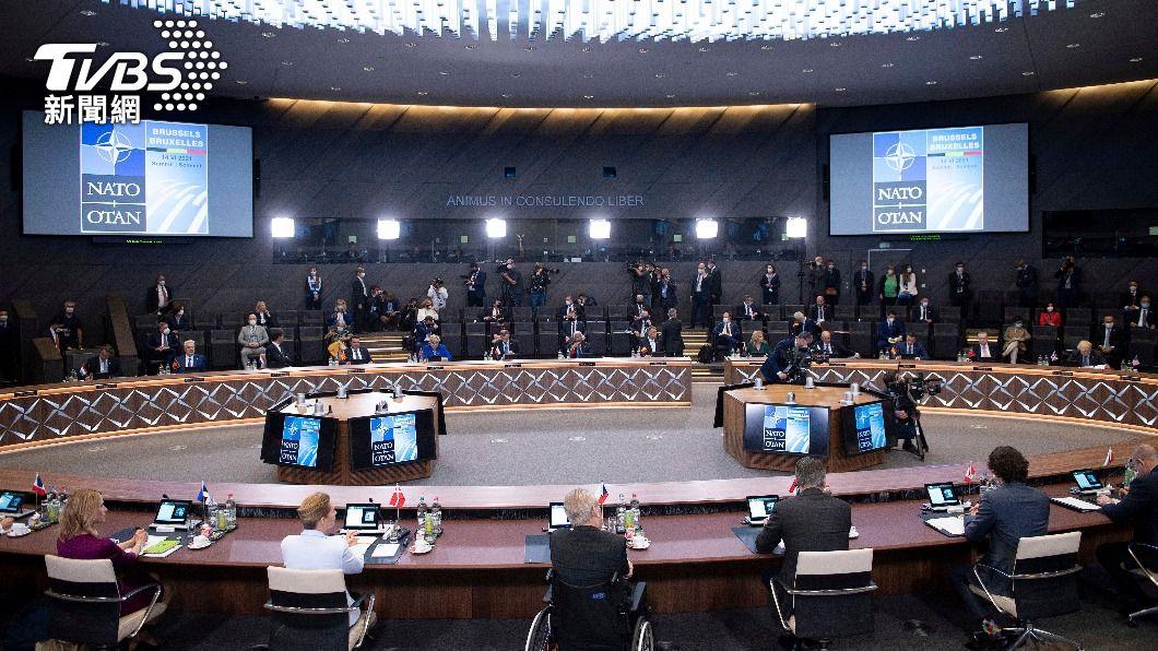 北約高峰會。(圖/達志影像美聯社) 北約峰會警示大陸威脅 認對國際構成系統性挑戰